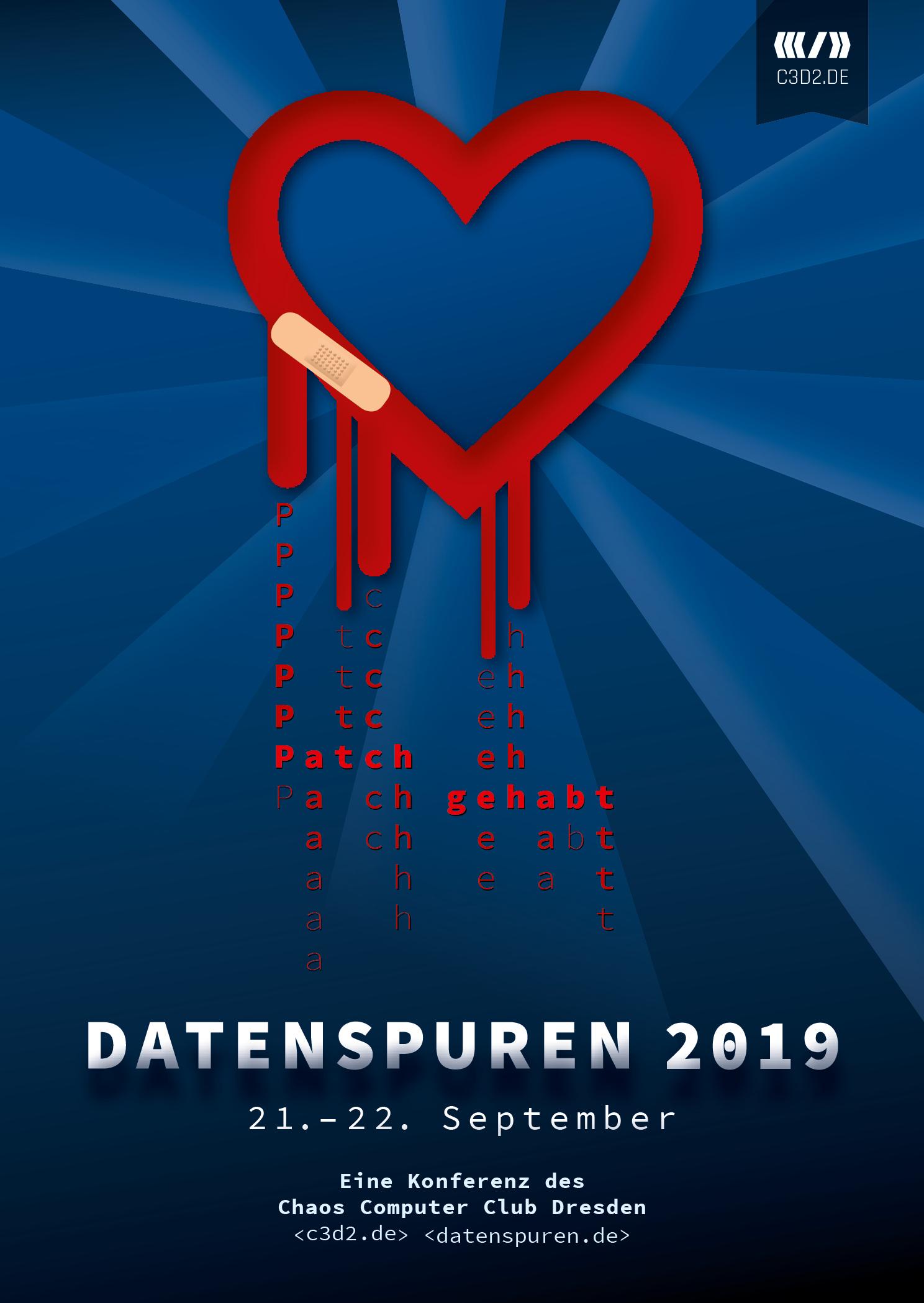 Logo Datenspuren 2019